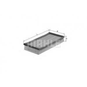 Воздушный фильтр lx692 mahle - FORD KA (RB_) Наклонная задняя часть 1.3 i