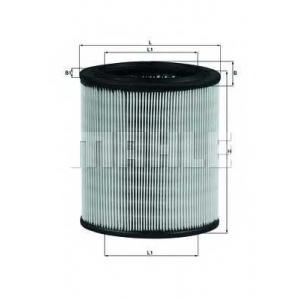 Воздушный фильтр lx715 mahle - CITRO?N SAXO (S0, S1) Наклонная задняя часть 1.4 VTS