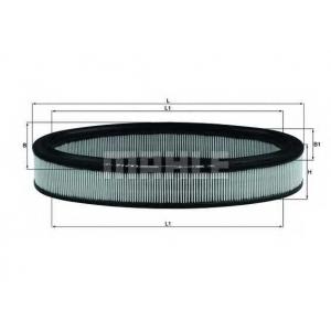 Воздушный фильтр lx716 mahle - RENAULT SUPER 5 (B/C40_) Наклонная задняя часть 1.7 (B/C408)