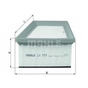 KNECHT LX773 Фильтр воздушный (пр-во Knecht-Mahle)