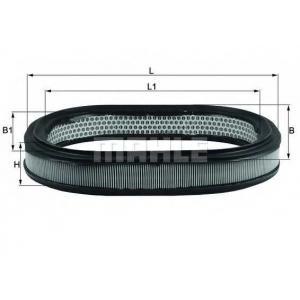 Воздушный фильтр lx78 mahle - FORD SIERRA (GBG, GB4) седан 2.3 D