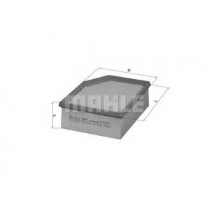 Воздушный фильтр lx795 mahle - CITRO?N BERLINGO (MF) вэн 1.6 16V (MFNFU)