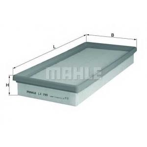 Воздушный фильтр lx799 mahle - FORD MONDEO I (GBP) Наклонная задняя часть 2.5 i 24V