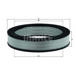 Воздушный фильтр lx8 mahle - MAZDA 626 I (CB) седан 1.6