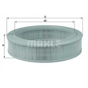 Воздушный фильтр lx81 mahle - RENAULT SUPER 5 (B/C40_) Наклонная задняя часть 1.1 (B/C/401, B/C40H)