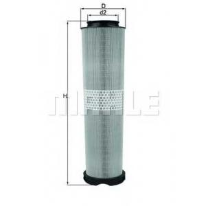 Воздушный фильтр lx8166 mahle - MERCEDES-BENZ E-CLASS (W211) седан E 200 CDI (211.007)