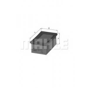 Воздушный фильтр lx820 mahle -