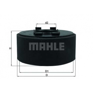 Воздушный фильтр lx870 mahle - BMW 3 Compact (E46) Наклонная задняя часть 316 ti