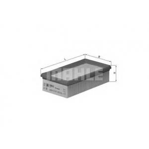 Воздушный фильтр lx89 mahle - OPEL REKORD E (17_-19_, 11_, 14_, 16_) седан 1.8