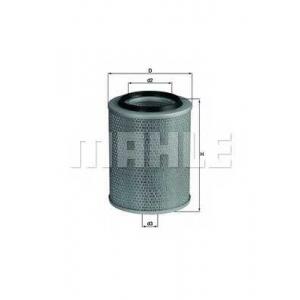 KNECHT LX92 Фільтр повітря