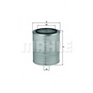KNECHT LX93 Air filter