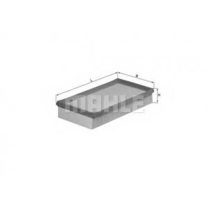 Воздушный фильтр lx993 mahle - RENAULT KANGOO (KC0/1_) вэн D 55 1.9 (KC0D)