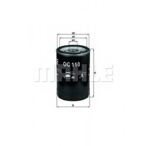 Масляный фильтр oc110 mahle - MERCEDES-BENZ 190 (W201) седан E 1.8 (201.018)