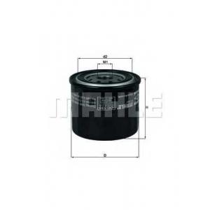 Масляный фильтр oc139 mahle - NISSAN MICRA I (K10) Наклонная задняя часть 1.0