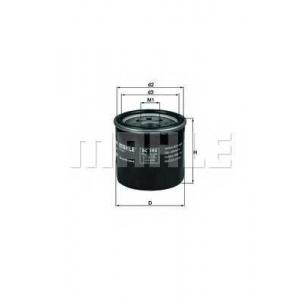 Масляный фильтр oc195 mahle - RENAULT MEGANE CC (EZ0/1_) кабрио 2.0 CVT (EZ0G, EZ1E, EZ1P)