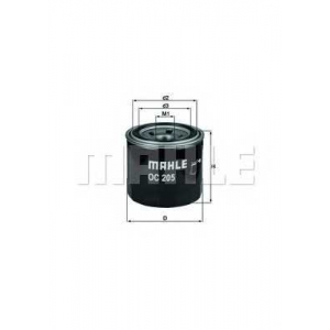 Масляный фильтр oc205 mahle - OPEL MONTEREY A (UBS_) вездеход закрытый 3.2 (UBS25_)