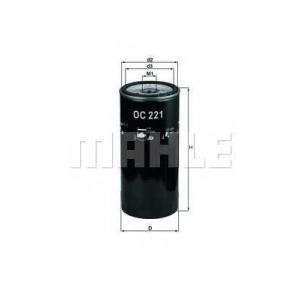 KNECHT OC221 Фильтр масляный (пр-во Knecht-Mahle)