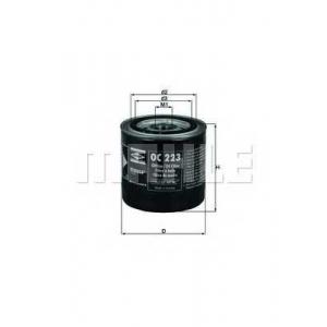 Масляный фильтр oc223 mahle - RENAULT 18 (134_) седан 2.1 Diesel (1344)