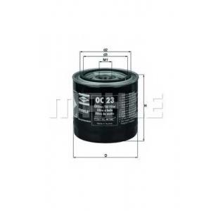 Масляный фильтр oc23 mahle - FORD ESCORT II (ATH) седан 2.0 RS Heckantrieb