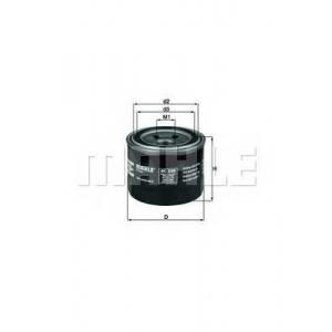 Масляный фильтр oc230 mahle - MITSUBISHI COLT I (A15_A) Наклонная задняя часть 1.2 GL (A151A)