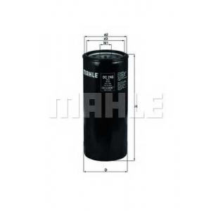 Масляный фильтр oc246 mahle - SCANIA 4 - series  94 D/220