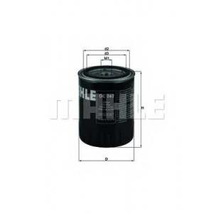 Масляный фильтр oc262 mahle - VW PASSAT (3A2, 35I) седан 1.9 TDI