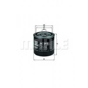 Масляный фильтр oc292 mahle - DAEWOO MATIZ (KLYA) Наклонная задняя часть 0.8