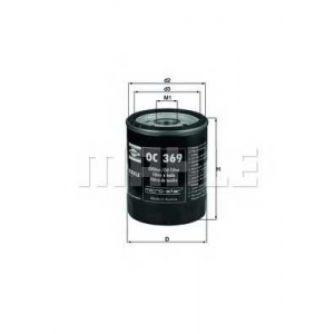 KNECHT OC369 Масляный фильтр