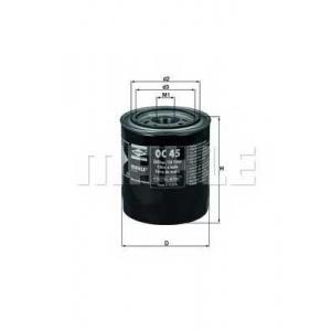 Масляный фильтр oc45 mahle - CITRO?N CX II Наклонная задняя часть 25 D