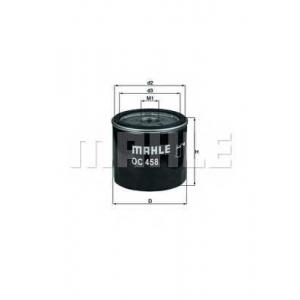 Масляный фильтр oc458 mahle - FIAT DOBLO Cargo (223) фургон 1.9 JTD Multijet