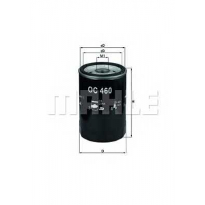 Масляный фильтр oc460 mahle - LAND ROVER DISCOVERY III (TAA) вездеход закрытый 4.0 V6 4x4