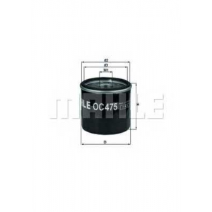 KNECHT OC475 Фильтр масляный (пр-во Knecht-Mahle)