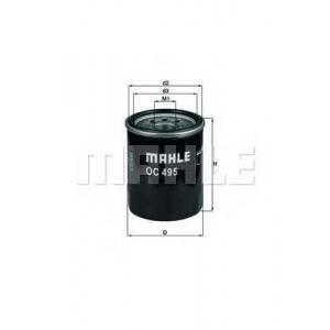 Масляный фильтр oc495 mahle - MITSUBISHI COLT VII (Z2_, CZ_) Наклонная задняя часть 1.5 (Z30)