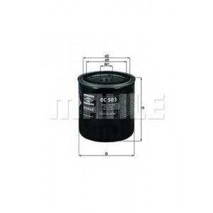 Масляный фильтр oc503 mahle - CITRO?N XANTIA (X1) Наклонная задняя часть 3.0 i 24V