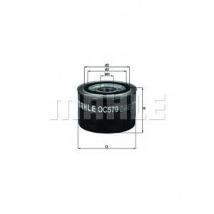 KNECHT OC570 Фильтр масляный (пр-во Knecht-Mahle)
