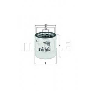 �������� ������ oc614 mahle - CHEVROLET CAPTIVA (C100, C140) �������� �������� 3.0 4WD