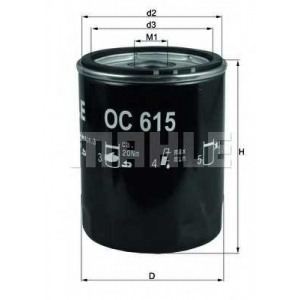 KNECHT OC615 Фільтр масляний