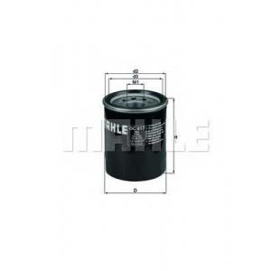 Масляный фильтр oc617 mahle - HONDA CIVIC IV Hatchback (EC, ED, EE) Наклонная задняя часть 1.4 L (EC9)