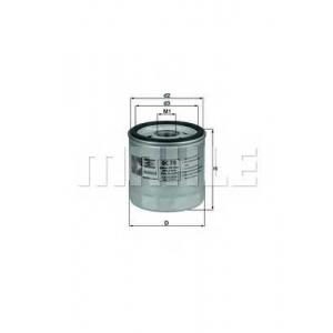 Масляный фильтр oc78 mahle - AUDI 200 (43) седан 2.1 5 T