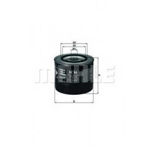 Масляный фильтр oc86 mahle - FIAT 131 седан 2.5 Diesel