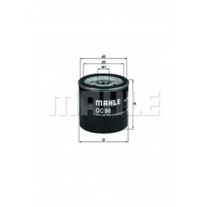 Масляный фильтр oc90of mahle - OPEL CORSA A TR (91_, 92_, 96_, 97_) седан 1.2 S