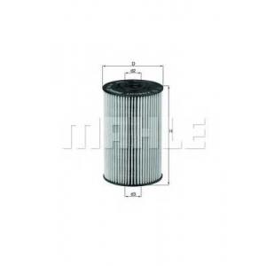 Масляный фильтр ox150d mahle - MERCEDES-BENZ T2/L фургон/универсал фургон/универсал L 405 D