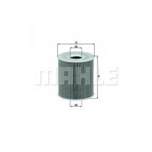 Масляный фильтр ox156d mahle - BMW 7 (E38) седан 730 d