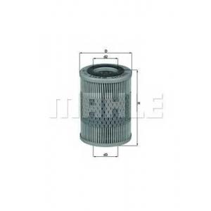 Масляный фильтр ox159d mahle - OPEL VECTRA B (36_) седан 2.0 DI 16V
