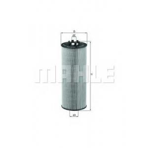 KNECHT OX164D Фильтр масла Passat B5/B6/A6 >04/A8 2.5TDI