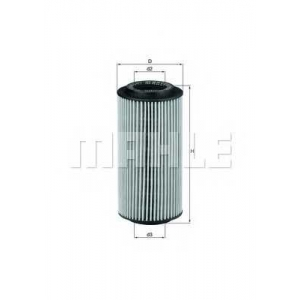 Масляный фильтр ox179d mahle - MERCEDES-BENZ E-CLASS (W210) седан E 320 CDI (210.026)