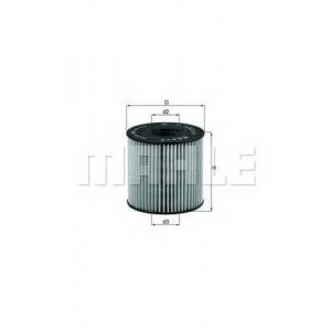 Масляный фильтр ox210d mahle - NISSAN PRIMASTAR автобус (X83) автобус dCi 115