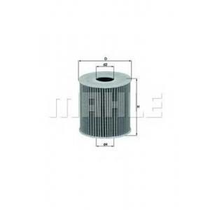 Масляный фильтр ox3392d mahle - CITRO?N C4 (B7) Наклонная задняя часть 1.6 VTi 120