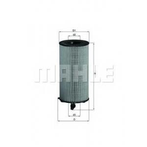 KNECHT OX354D Фільтр масляний