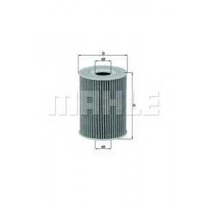 Масляный фильтр ox380d mahle - MERCEDES-BENZ CLS (C218) купе 350 CDI (218.323)